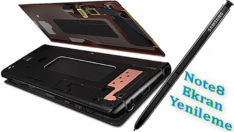 Samsung Galaxy Note8 Ekran Yenileme